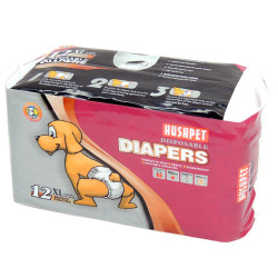 - Hush Pet Ultra Emici Köpek Külot Çiş Pedi XL Beden 12 li