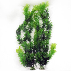 Fatih-Pet - İkili Plastik Akvaryum Bitkisi 50 cm.