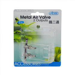İsta - İsta Metal Air Valve - 2 Çıkışlı Hava Musluğu