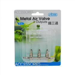 İsta - İsta Metal Air Valve - 3 Çıkışlı Hava Musluğu