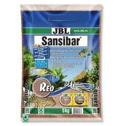JBL - JBL Sansibar Red - Akvaryum Kumu Kırmızı 5 Kg