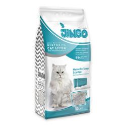Jingo - Jingo Marsilya Sabun Kokulu Bentonit Kedi Kumu İnce Taneli 10 L