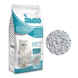 Jingo - Jingo Marsilya Sabun Kokulu Bentonit Kedi Kumu Kalın Taneli 10 L