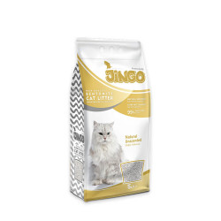 Jingo - Jingo Naturel Bentonit Kedi Kumu İnce Taneli 5 L