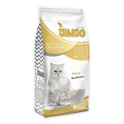 Jingo - Jingo Naturel Karbonlu Bentonit Kedi Kumu İnce Taneli 10 L