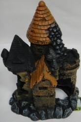 Fatih-Pet - K-001C Kırık Kule Akvaryum Dekoru 17x13,5x22,5 cm