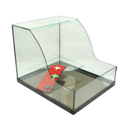 Fatih-Pet - Kaplumbağa Bahçesi Cam Akvaryum XL