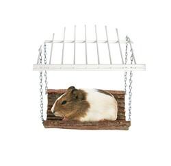 Karlie - Karlie Ahşap Hamster Salıncağı 10x20cm