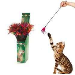 Karlie - Karlie Tüylü Kedi Oltası 59 cm