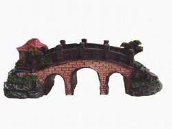 Fatih-Pet - KB-208 Köprülü Akvaryum Dekoru 9x3,5x5 cm