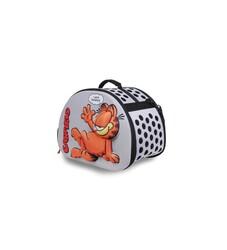 Garfield - Kedi Taşıma Çantası 3D EVA Garfield Kabartmalı Gri