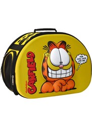 Garfield - Kedi Taşıma Çantası 3D EVA Garfield Kabartmalı Sarı
