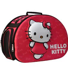 Hello Kitty - Kedi Taşıma Çantası 3D EVA Hello Kitty Kabartmalı Pembe