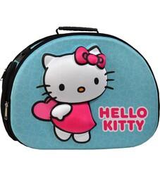 Hello Kitty - Kedi Taşıma Çantası 3D EVA Hello Kitty Kabartmalı Turkuaz