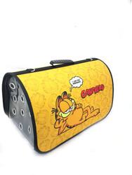 Garfield - Kedi Taşıma Çantası Büyük Boy Garfield Sarı