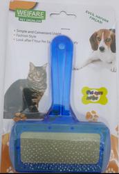 Fatih-Pet - Kedi&Köpek Yumuşak Uçlu Mavi Fırça 9 cm