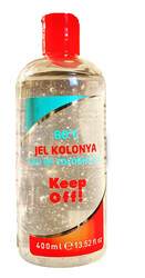 Pet Love - Keep Off! Jel Kolonya 80 derece