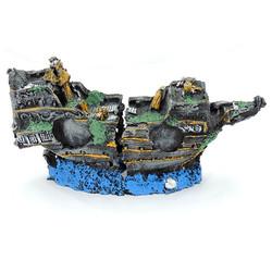 White Balance - Kırık Gemi Akvaryum Dekoru XL
