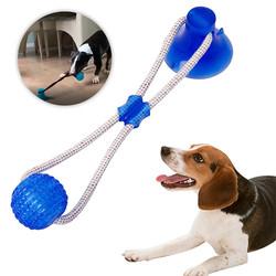 Köpek Oyuncağı Vantuzlu Top - Thumbnail