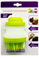 Cat&DogLife - 202422 Köpekler için Silikonlu Masaj Yapan Yıkama Fırçası