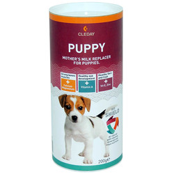 Cleday - Kutulu Pupy Milk Powder - Yavru Köpekler için Süt Tozu 200g