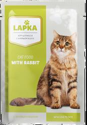 Lapka - Lapka Tavşan Etli Kedi Maması 85gr.
