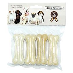 Little Friends - Little Friends Beyaz Kemik 7 cm/20-25g 4 lü