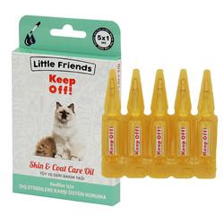 Little Friends - Little Friends KeepOff! Kediler için Ense Damlası 5x1 ml