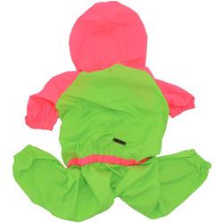 Little Friends - Little Friends Köpek Büyük Irk Tulum Yeşil-Pembe 3 lü