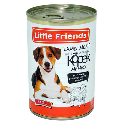 Little Friends Lamb Köpek Konservesi-Tahılsız 415 gr 24 lü