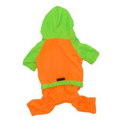 Little Friends - Little Friends Mikro Yağmurluk Yeşil - Orange 6 lı