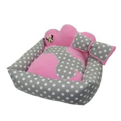 Little Friends - Little Friends Prenses Kedi&Köpek Yatağı Pembe