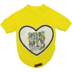 Little Friends - Little Friends Sarı Love Penye Sweat 6 lı