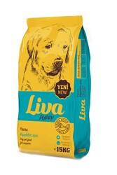 Liva - Liva Kuzu Etli Yavru Köpek Maması 15 Kg