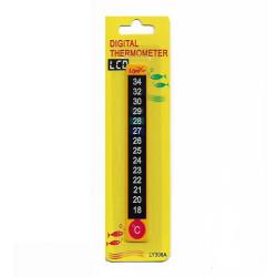 Liya - Liya LY308A- Dijital Kağıt Yapışkan Termometre Derece