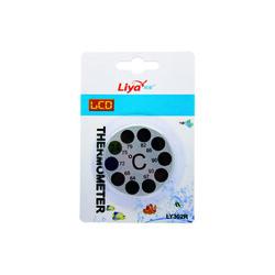 Liya - LİYA LY302R Yuvarlak LCD Dijital Derece Yapıştırmalı