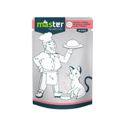 Master - Master Dana Etli Pouch Kedi Maması 80g/24 lü