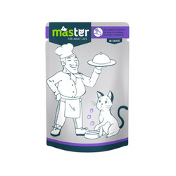 Master - Master Tavşan Etli Pouch Kedi Maması 80g/24 lü
