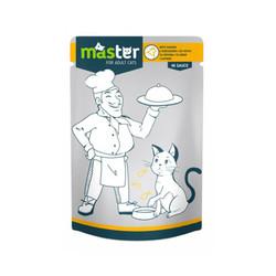 Master - Master Tavuk Etli Pouch Kedi Maması 80g/24 lü