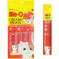 ME-O - ME-O Creamy Treats Crab Flavour - Yengeçli Krem Kedi Ödülü 60g/12 li