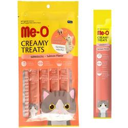 ME-O - ME-O Creamy Treats Salmon Flavor - Somonlu Krem Kedi Ödülü 60g/12 li