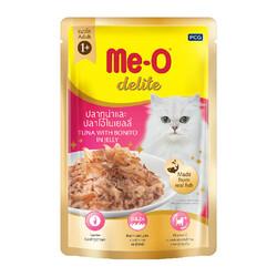 ME-O - ME-O Delite Tuna with Bonito - Palamutlu Ton Balıklı Yetişkin Kedi Maması 70g