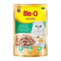ME-O - ME-O Delite Tuna with Chicken - Ton Balıklı Tavuklu Yetişkin Kedi Maması 70g