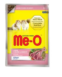 ME-O - ME-O Kuzu Etli Yavru Kedi Yaşmama 80gr