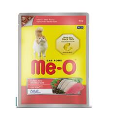 ME-O - ME-O Ton Balık ve Alabalık Kedi Yaşmama 80gr