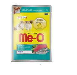ME-O - ME-O Ton Balık ve Sardalya Yavru Kedi Yaşmama 80gr