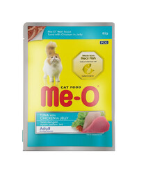 ME-O - ME-O Ton Balık ve Tavuk Kedi Yaşmama 80gr