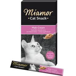 Miamor - Miamor Cat Cream Malt-Cream Malt Mayası Kedi Ödülü 6x15g