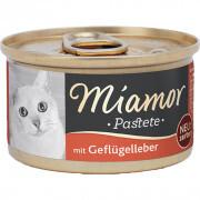 Miamor - Miamor Pastate Ciğerli Kedi Konservesi 85g
