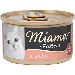 Miamor - Miamor Pastate Somonlu Kedi Konservesi 85g